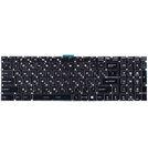Клавиатура черная для MSI GE63 7RC Raider (MS-16P1)