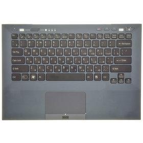 Клавиатура для Sony VAIO VPCSB1Z9R/B (Топкейс темно-синий)