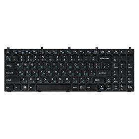Клавиатура черная без рамки iRU Patriot 531