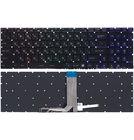 Клавиатура черная с подсветкой RGB для MSI GL72 7REX (MS-1799)