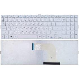 Клавиатура для Acer Aspire 5943G серебристая без рамки