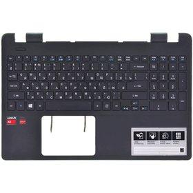 Клавиатура для Acer Aspire E5-521 (Топкейс черный)
