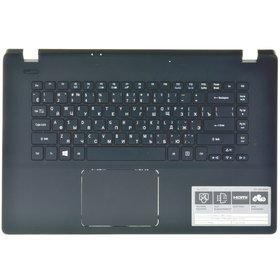 Клавиатура для Acer Aspire ES1-511 (Z5W1M) черная без рамки (Топкейс черный)
