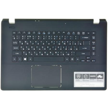 Клавиатура для Acer Aspire ES1-511 (Z5W1M) (Топкейс черный)