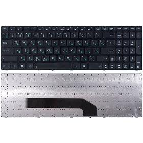 Клавиатура для Asus K50 черная с черной рамкой