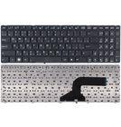 Клавиатура для Asus K52 черная с черной рамкой