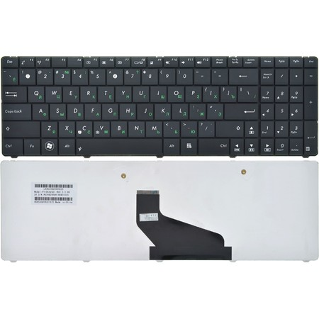 Клавиатура черная ASUS K53BE