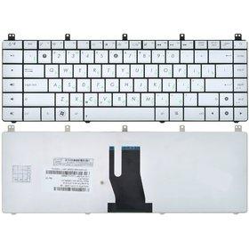 Клавиатура для Asus N45 серебристая