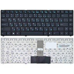 Клавиатура для Asus U20 черная с черной рамкой