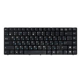 Клавиатура черная с черной рамкой для ASUS X43U