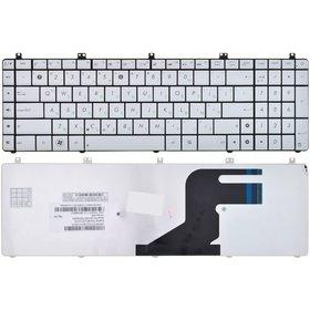 Клавиатура для Asus N55 серебристая Болгарская раскладка