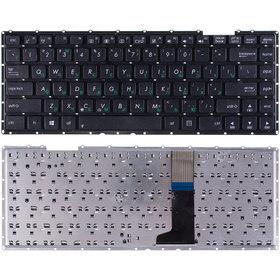 Клавиатура для Asus X401 черная без рамки