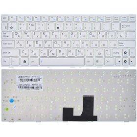 Клавиатура для Asus EEE PC 1001 белая с белой рамкой