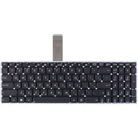 Клавиатура черная без рамки для ASUS F550CA