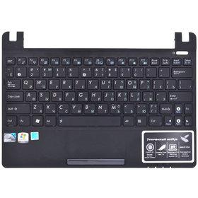 Клавиатура для Asus Eee PC X101 черная (Топкейс черный)