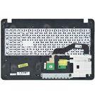 Клавиатура для Asus VivoBook X540 черная (Топкейс бронзовый)