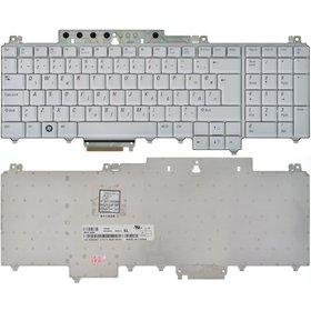 Клавиатура для Dell Inspiron 1721 (PP22X) серебристая Английская раскладка