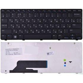 Клавиатура для Dell Inspiron 1120 (M101z) черная с черной рамкой