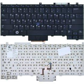 Клавиатура для Dell Latitude E4300 (PP13S) черная (Управление мышью)