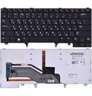 Клавиатура для Dell Latitude E5420 черная с подсветкой (Управление мышью)