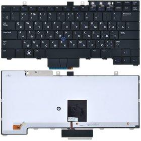 Клавиатура для Dell Latitude E5410 черная с подсветкой (Управление мышью)