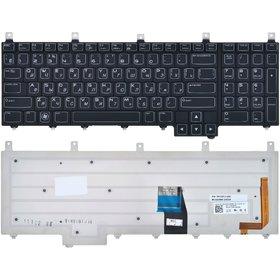 Клавиатура для Dell Alienware M17X R2 черная с подсветкой