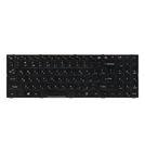 Клавиатура для HASEE K580S черная с черной рамкой
