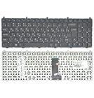 Клавиатура для Clevo W650SR черная без рамки