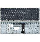 Клавиатура для Clevo W970KLQ черная без рамки (Вертикальный Enter)