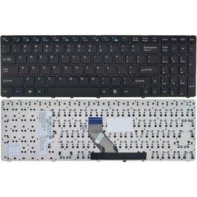 Клавиатура для DNS Home (0157896) MT50IN1 черная с черной рамкой Английская раскладка