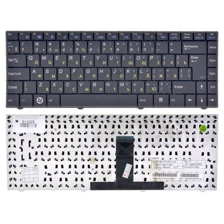 Клавиатура черная CLEVO W840SU