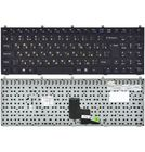 Клавиатура для Clevo W765SUN черная с черной рамкой