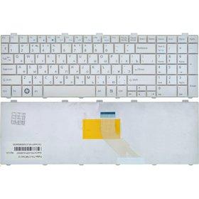 Клавиатура для Fujitsu Siemens Lifebook A530 белая