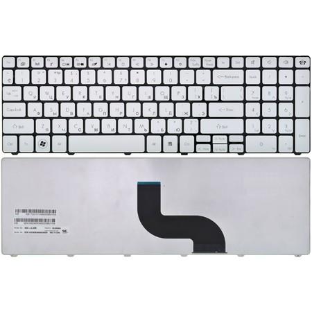 Клавиатура для Gateway NV53 (MS2285) серебристая