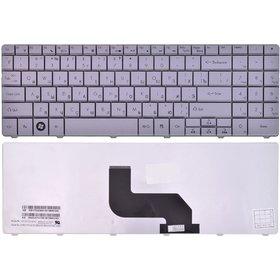 Клавиатура для Packard Bell EasyNote TJ76 серебристая