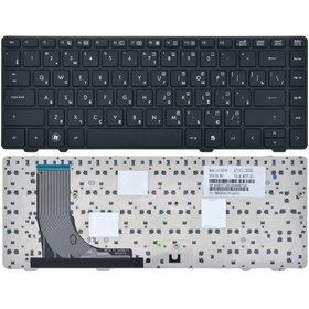 Клавиатура для HP ProBook 6300 черная с черной рамкой