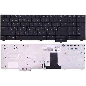 Клавиатура для HP EliteBook 8730w Mobile Workstation черная (Управление мышью)