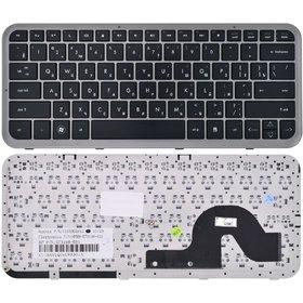 Клавиатура черная с серой рамкой HP Pavilion dm3-1100eb