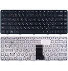 Клавиатура черная с черной рамкой для HP Pavilion dv5-2070us
