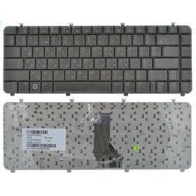 Клавиатура для HP Pavilion dv5-1000 кофейная