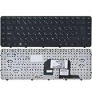 Клавиатура для HP Pavilion dv6-3000 черная с черной рамкой