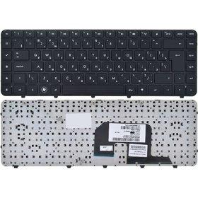 Клавиатура черная с черной рамкой HP Pavilion dv6-3190sl