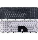 Клавиатура для HP Pavilion dv6-6000 черная с черной рамкой