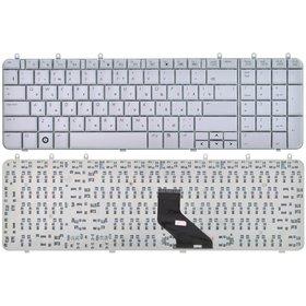 Клавиатура для HP Pavilion dv7-1000 серебристая