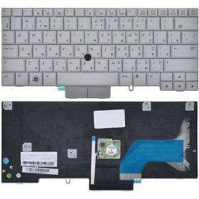 Клавиатура для HP EliteBook 2740p Tablet PC серая (Управление мышью)