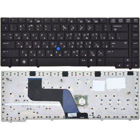 Клавиатура для HP EliteBook 8440p черная (Управление мышью)