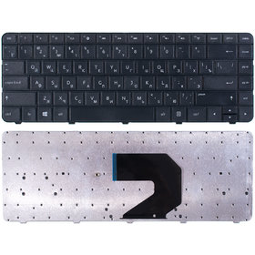 Клавиатура черная HP Compaq Presario CQ57-421ES