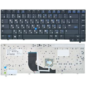 Клавиатура для HP Compaq nc6400 черная (Управление мышью)