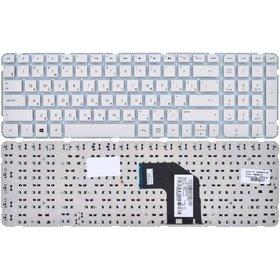 Клавиатура HP Pavilion g6-2000 белая без рамки