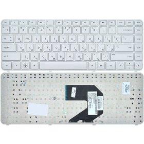 Клавиатура для HP Pavilion g4-2000 белая с белой рамкой